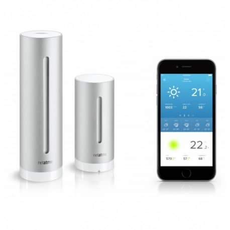 Statie meteo wireless interior/exterior Netatmo WIFI