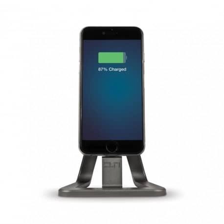 Stand De Incarcare Pt. Birou  Pentru Apple Iphone 5/6  Mufa Lightning  Certificat Apple Mfi