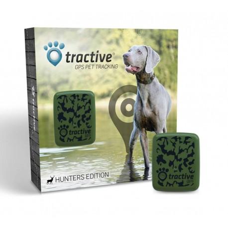 Dispozitiv localizare GPS animale companie Tractive editie de vanatoare