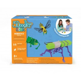 Creion 3D si kit robotica 3Doodler Start pentru copii