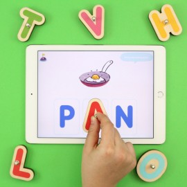 Jucarie educativa STEM - Marbotic Smart Letters
