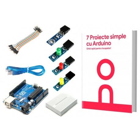 Kit pentru incepatori 7 Proiecte simple cu Arduino