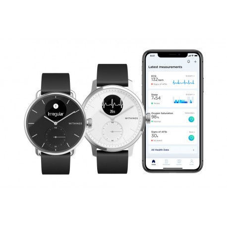 Smartwatch hibrid Withings Scanwatch